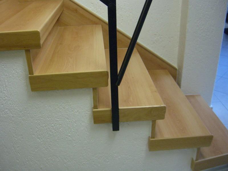 Treppenstufen Holz Anthrazit ~ Trittstufenkappe aus Massivholz, Anthrazit Stone, gerade  HAFA