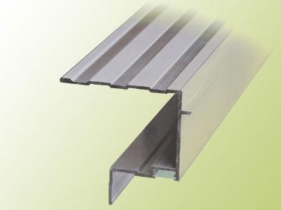 aluminium u profil mit lichtkanal hafa treppen produktkatalog. Black Bedroom Furniture Sets. Home Design Ideas