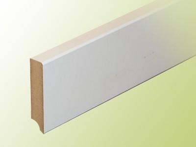 sockelleiste 80 mm glatt uni wei hafa treppen produktkatalog. Black Bedroom Furniture Sets. Home Design Ideas